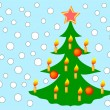 Christmas tree — Vector de stock #3569404