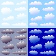 Clouds collection — Stock Vector #3645708