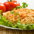 Dish of noodles - Stock Photo