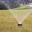 Stock Photo: Water sprinkler