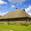 Old lithuanian house — Stock Photo