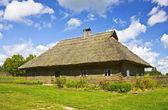 Литовский старый дом — Стоковое фото