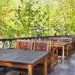 Stockfoto: Outdoor cafe