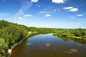 Summer river — Stock Photo