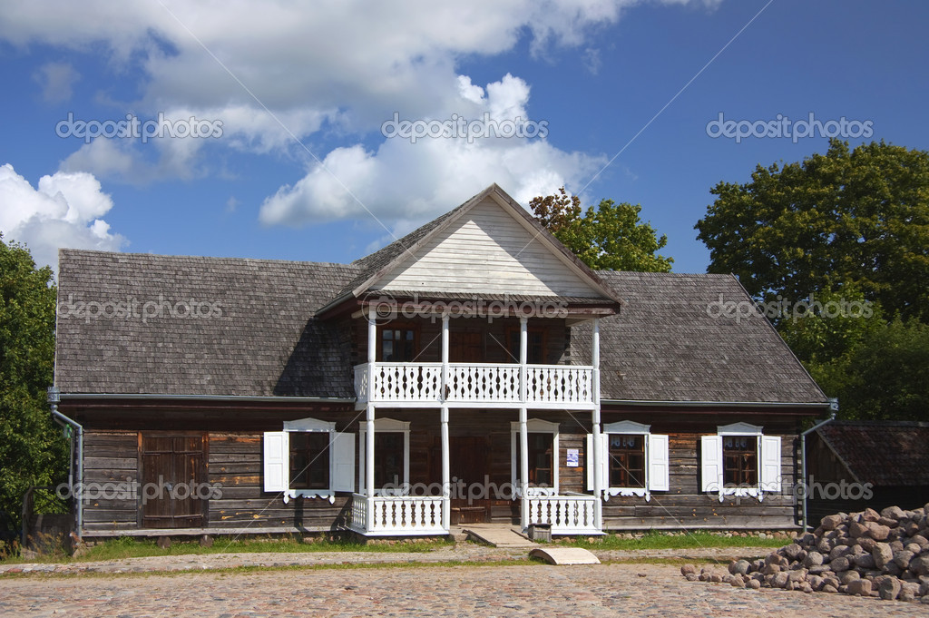 Old Country House Stock Photo Aleksask 3542151
