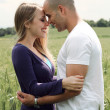 Couple getting close in romance — ストック写真 #2841251