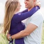 Embracing couple — Stock Photo #2841320