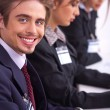 Closeup of attractive business men — Stock Photo #3077705