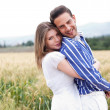 Happy young couple — Stock Photo #3124241