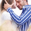 Loving couple, Man looking at camera — Stock Photo #3308993