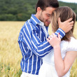 Beautiful picture of couple in love — Stockfoto