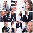 Foto de Stock  : Group of business men and women