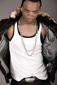 Young stylish black man — Stock Photo
