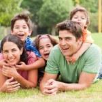 Family lifestyle portrait — Stock Photo #3605769