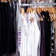 Wardrobe showcase - Stock Photo
