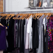Stock Photo: Fashion clothes for sale