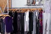 Fashion clothes for sale — Stock Photo