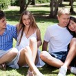 Young romantic couples — Stock Photo