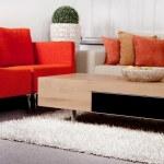 Modernized living room — Stock Photo