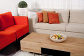 Modern furniture design — Stock Photo