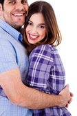 Couple hugging each other — Stock Photo