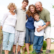 Portrait of happy family — Stock Photo #3731906