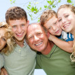 Happy smiling family — Stock Photo #3731920