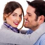 flirta par — Stockfoto #3744997