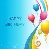 Vector birthday template — Stock Photo