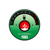 Vector ecological fuel — Stock Photo