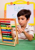 Mathematics lesson — Stock Photo