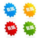 Set of blog icon — Stock Photo #3848088