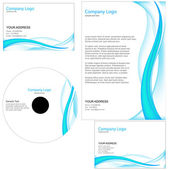 Set of business template — Stock Photo