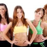 Active ladies — Stock Photo