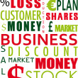 Royalty-Free Stock Photo: Business word collage