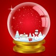Snow globe — Stock Photo #4164321