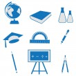 Education icon - Stock Photo