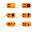Halloween discount tags - Photo