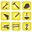 Stock Photo: Set of underconstruction icons