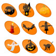 Elememts of halloween - Stock Photo