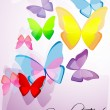 colorful butterflies — Stock Photo #4164780