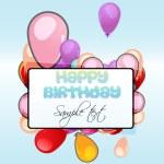 Birthday card — Stock Photo #4164854