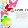 Butterfly background — Stock Photo #4164856