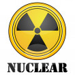 Nuclear symbol — Stock Photo #4164930
