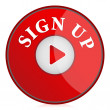 Royalty-Free Stock Photo: Sign up button