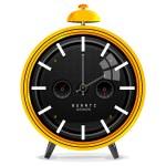 Isolated alarm clock — Stock Photo