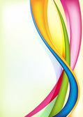 Swirly colorful background — Stock Photo