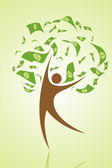 Money tree — Stock Photo
