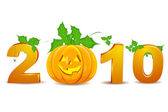 2010 halloween — Stock Photo