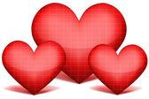 Güzel kalp — Stok fotoğraf